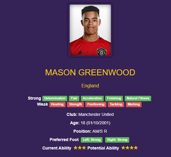 mason greenwood wonderkid