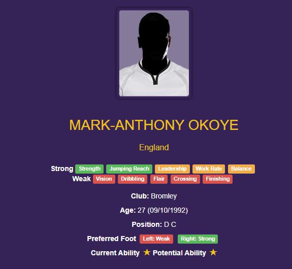 Mark-Anthony Okoye