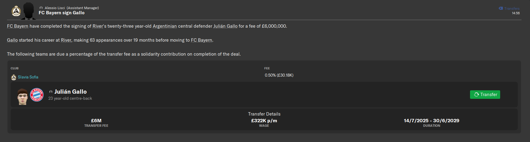Gallo was signed by Bayern 6M.png